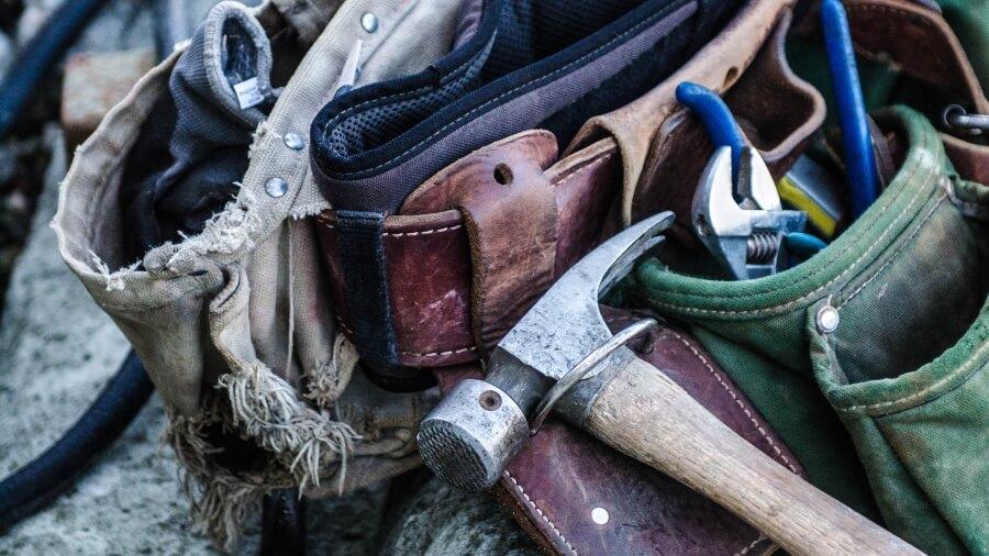 Photo of a tool belt